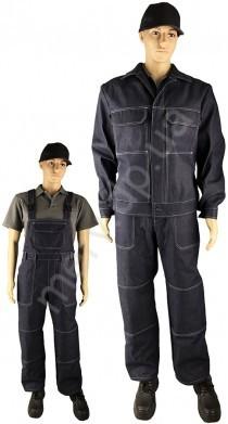 """010 Костюм """"СПЕЦІАЛІСТ-ДЖИНС"""" (напівкомб + куртка), К6, джинс (320 гр)"""