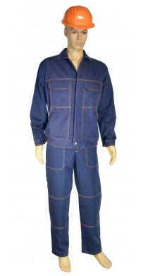 """017 Костюм """"ХБ"""" (брюки + куртка), К5, діаг 3070, 260г/м2 (78% бав. 22%па)"""