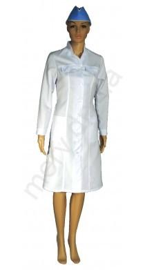 059 Халат робочий мод. жін. К4 (тк-габардин)